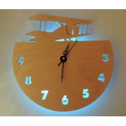 Часы с подсветкой «Самолет №3»