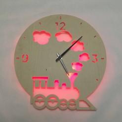 Часы с подсветкой «Паровоз №803»