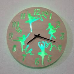 Часы с подсветкой «Балет №804»