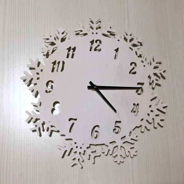 снежинка часы 12 часов стикеры картинки