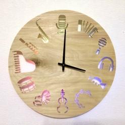 Часы с подсветкой «Музыка №813»