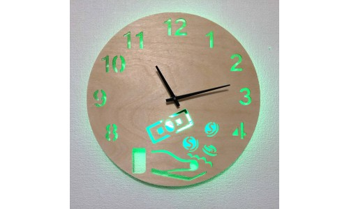 Часы «Деньги №814»