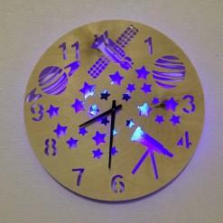 Часы с подсветкой «Космос №817»