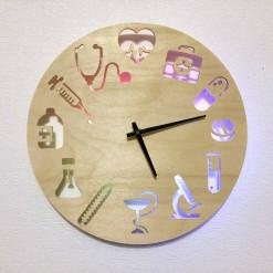 Часы с подсветкой «Медицина №818»