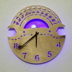 Часы с подсветкой «Ключ №820»