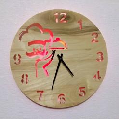 Часы с подсветкой «Повар №821»