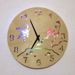 Часы с подсветкой «Космос №822»