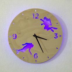 Часы с подсветкой «Водолаз №823»