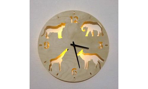 Часы «Животные №825»