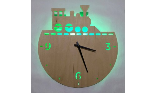 Часы «Поезд №828»