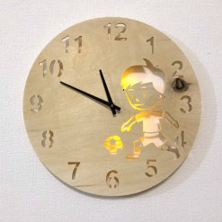 Часы с подсветкой «Ребенок №832»