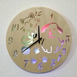 Часы с подсветкой «Животные №833»