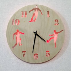 Часы с подсветкой «Футбол №834»