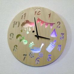 Часы с подсветкой «Детство №835»