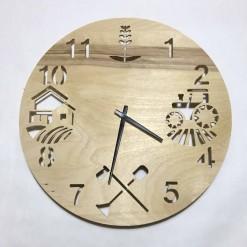 Часы с подсветкой «Сельское хозяйство №838»