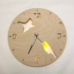 Часы с подсветкой «Птицы №841»