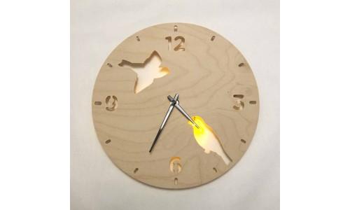 Часы «Птицы №841»