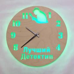 Часы с подсветкой «Детектив №842»