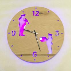 Часы с подсветкой «Оркестр №848»
