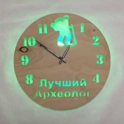 Часы с подсветкой «Археолог №849»