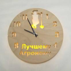 Часы с подсветкой «Агроном №851»