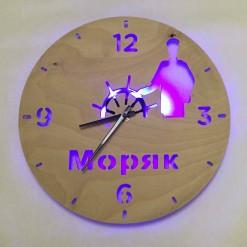 Часы с подсветкой «Моряк №854»