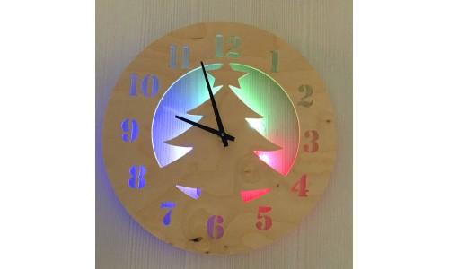 Часы «Елка №856»