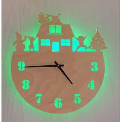 Часы с подсветкой «Новый год №857»