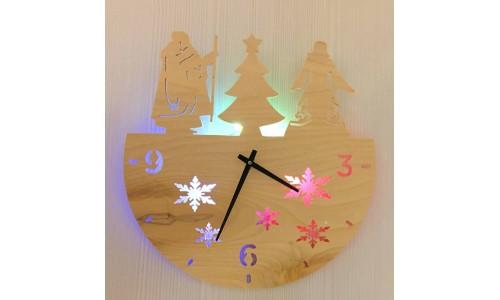Часы «Дед мороз №858»