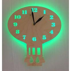 Часы с подсветкой «Воздушный шар №860»