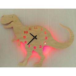 Часы с подсветкой «Динозавр №865»