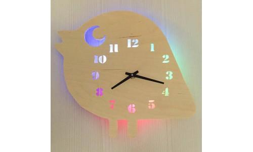 Часы «Птичка №866»