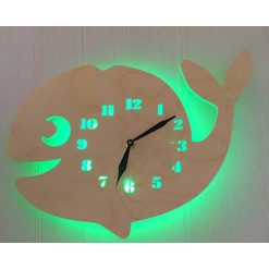 Часы с подсветкой «Кит №869»
