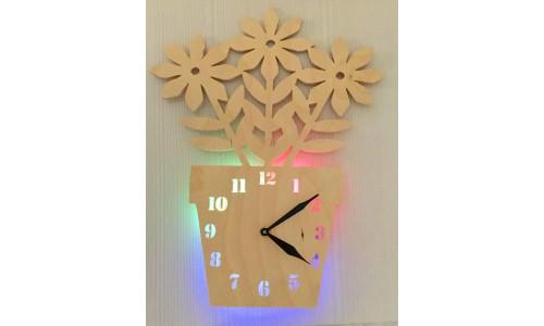 Часы «Цветок №870»