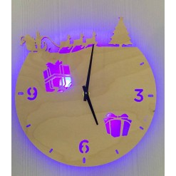 Часы с подсветкой «Новый год №871»