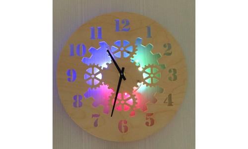 Часы «Шестеренки №872»