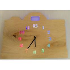 Часы с подсветкой «Сумка №873»