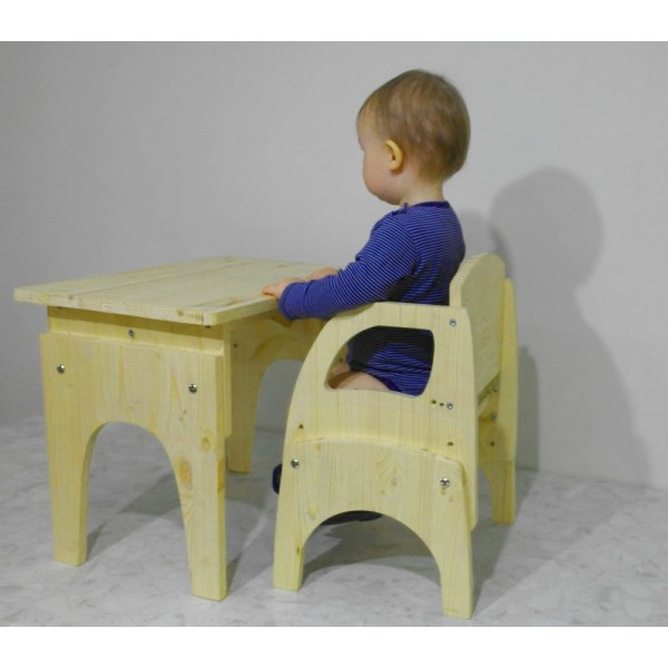 Детский стол и стулья своими руками 395