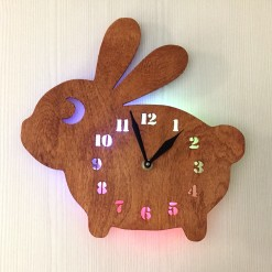 Часы «Заяц  №895»