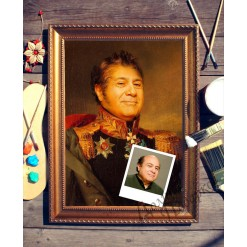 Портрет по фото *Генерал*