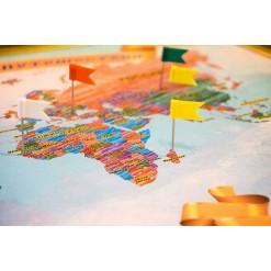 Карта наших путешествий