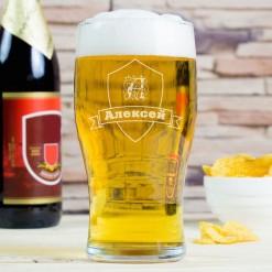 """Бокал для пива """"Именной"""""""