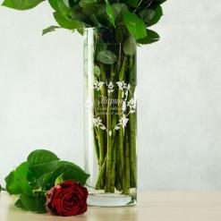 """Именная ваза для цветов """"Любимой"""""""