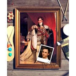 Портрет по фото *Британский Король*