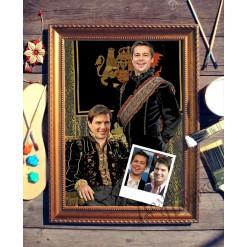 Парный портрет по фото *Братья*