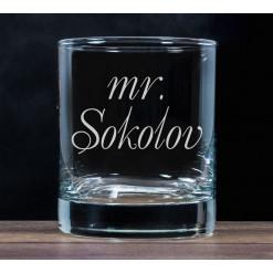 """Бокал для виски """"Mister"""""""