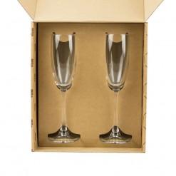 """Набор фужеров для шампанского """"Половинки"""""""