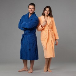 """Комплект халатов с вышивкой """"Супер мама и супер папа"""""""