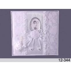 Свадебный фотоальбом *Белые узоры*