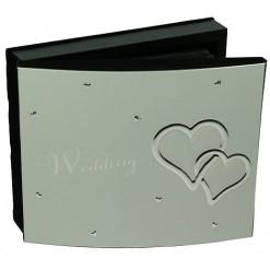 Свадебный фотоальбом *Два сердца*
